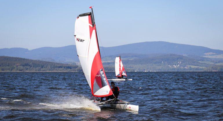 Testevent Multihull Sailing Days Schwarzenau at the Achensee (AT)