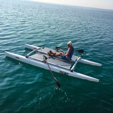 Rowing at Lake Garda