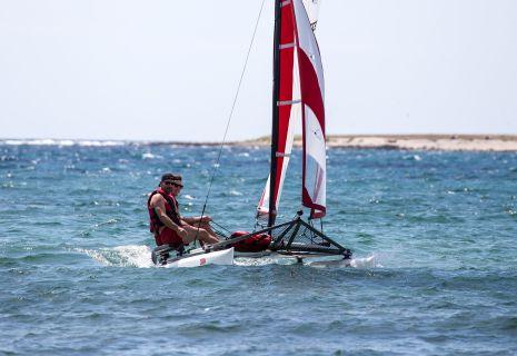 Katamaran sport  XCAT Sail | XCAT-Multi Sport Katamaran für Segeln, Rudern, Skullen ...