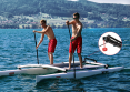 Precise steering with Tiller-Fix while Stand Up Paddling on the XCAT
