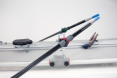 Sculls with carbon fiber tube