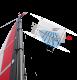 XCAT Segel mit anliegender Strömung