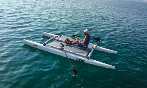 Rowing at Lake Garda
