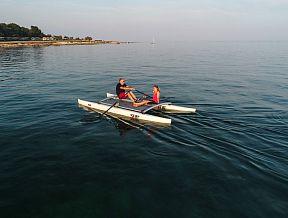 XCAT RowMotion Ruderkatamaran Faltboot Faltkanu Faltkajak
