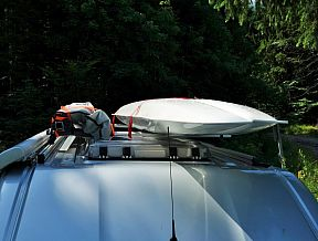 xcat folding canoe boat klepper transport car