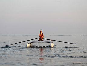 XCAT RowMotion pedal rowing mirage hobie kayak trition