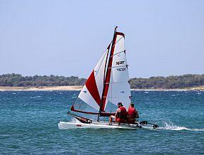 xcat segelboot katamaran strandkatamaran jolle dinghy segeln boot